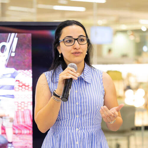 Ms. Ghada Elkeissi